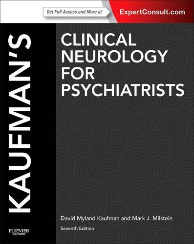 Clinical Neurology for Psychiatrists  7th 2013 edition cover