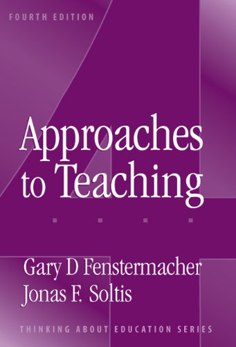 Approaches to Teaching  4th 2004 edition cover