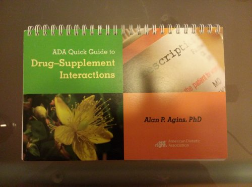 ADA QUICK GUIDE TO DRUG-SUPPLE N/A edition cover