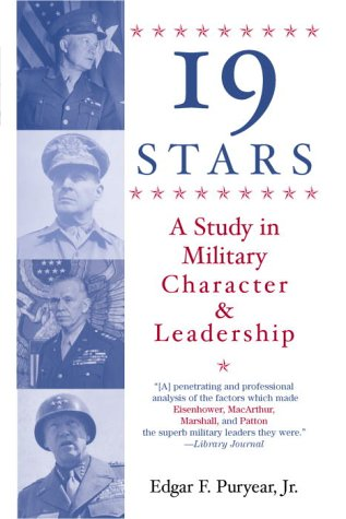 Nineteen Stars A Study in Military Character and Leadership 2nd 1997 (Reprint) edition cover