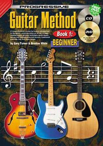 Progressive Guitar Method Book 1 - Beginner N/A 9780959540482 Front Cover