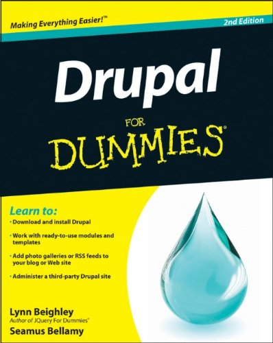 Drupal for Dummies  2nd 2011 edition cover
