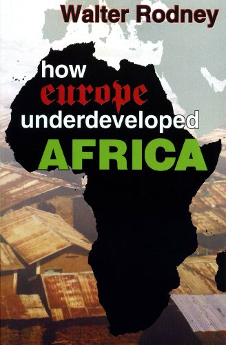 How Europe Underdeveloped Africa  N/A edition cover