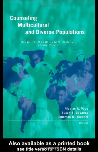 Counseling Multicultural and Diverse Populations Strategies for Practitioners 4th 2003 (Revised) edition cover