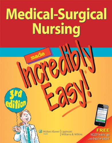 Medical-Surgical Nursing  3rd 2012 (Revised) 9781609136482 Front Cover