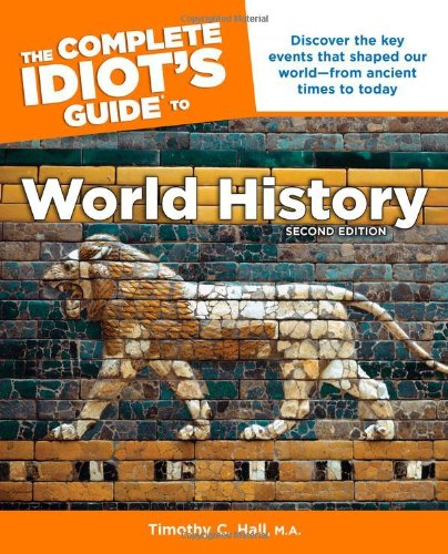 Complete Idiot's Guide to World History  2nd edition cover