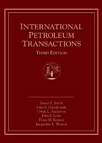 INTERNATIONAL PETROLEUM TRANSA N/A edition cover