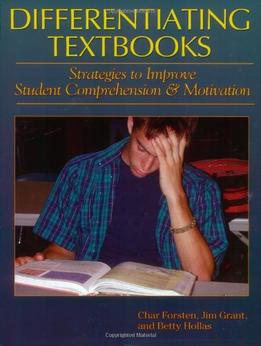 Differentiating Textbooks Strategies to Improve Student Comprehension and Motivation  2003 edition cover