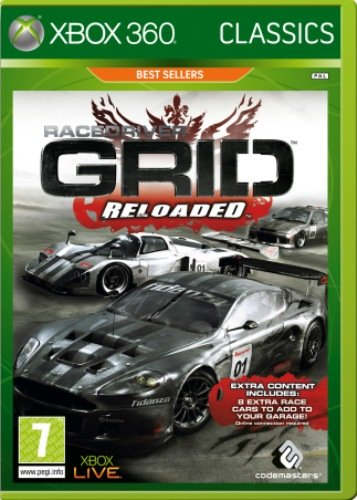 Grid: Reloaded- Classics Edition (Xbox 360) by Codemasters Xbox 360 artwork