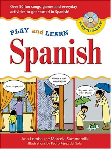 Play and Learn Spanish   2005 9780071441483 Front Cover
