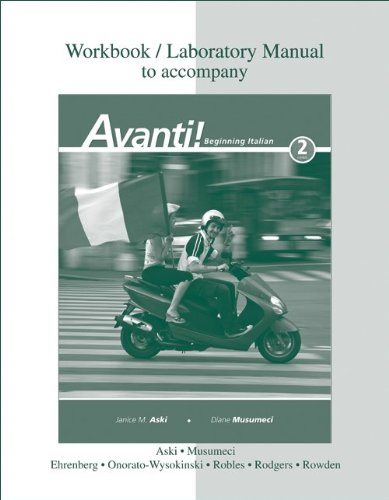 Avanti!  2nd 2010 edition cover