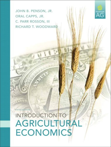 Introduction to Agricultural Economics  5th 2010 edition cover