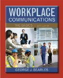 Workplace Communications The Basics Plus MyWritingLab with EText -- Access Card Package 6th 2014 edition cover