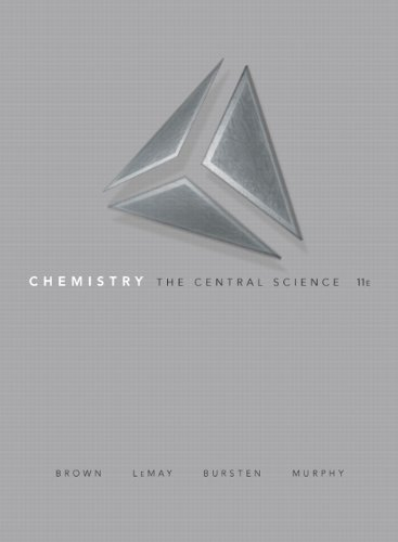 Chemistry The Central Science 11th 2009 9780135031483 Front Cover