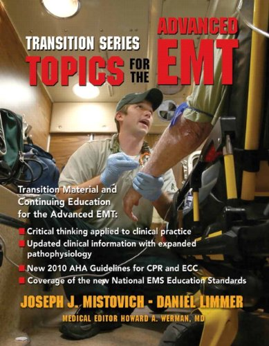 Topics for the Advanced EMT   2013 9780137082483 Front Cover
