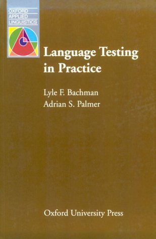 Language Testing in Practice   1996 edition cover