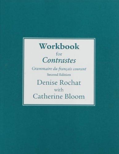 Contrastes Grammaire du Fran�ais Courant 2nd 2010 (Workbook) edition cover