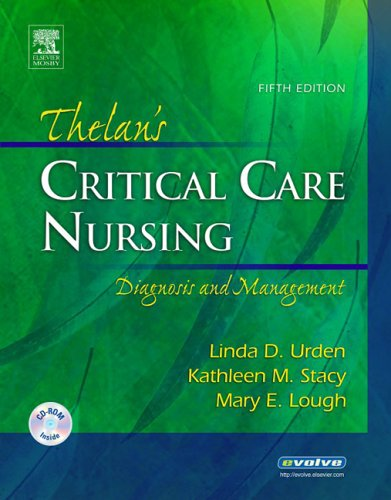 Thelan's Critical Care Nursing Diagnosis and Management 5th 2006 (Revised) edition cover