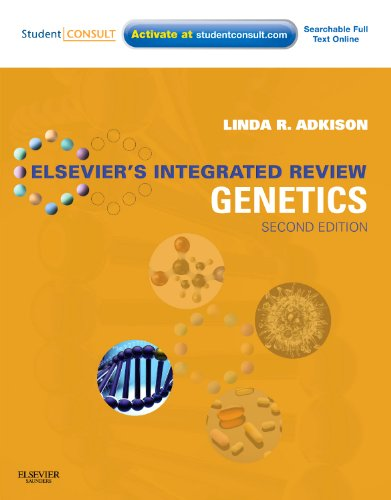 Elsevier's Integrated Review Genetics  2nd 2012 edition cover