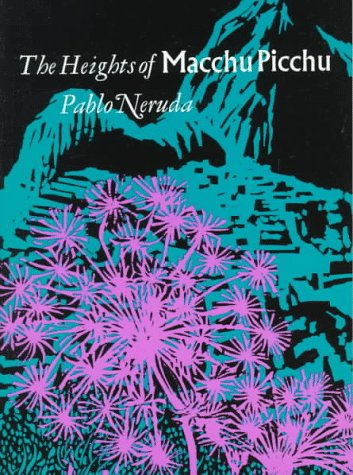 Heights of Macchu Picchu   1967 9780374506483 Front Cover