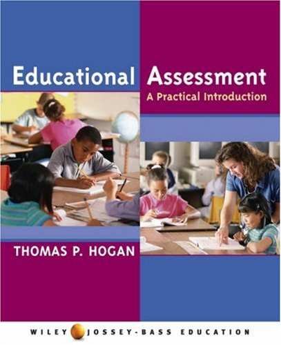 Educational Assessment A Practical Introduction  2007 edition cover