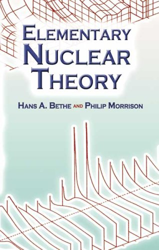 Elementary Nuclear Theory  2nd 2006 edition cover