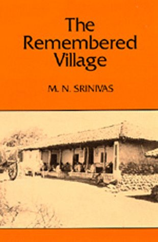 Remembered Village   1980 9780520039483 Front Cover