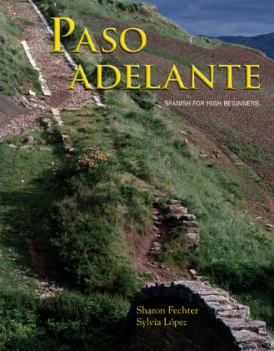 Fechter Paso Adelante with in-text Cd  2007 9780618772483 Front Cover