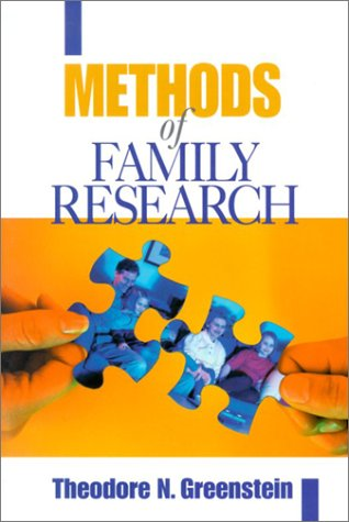 Methods of Family Research   2001 edition cover