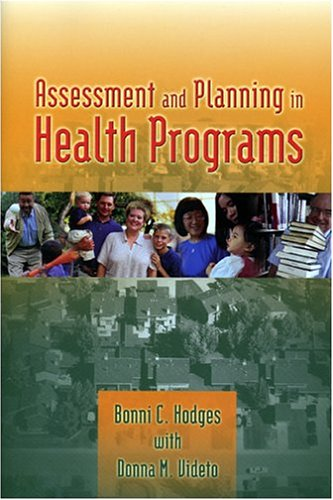 Assessment and Planning in Health Programs   2005 edition cover