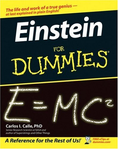 Einstein for Dummies   2005 edition cover