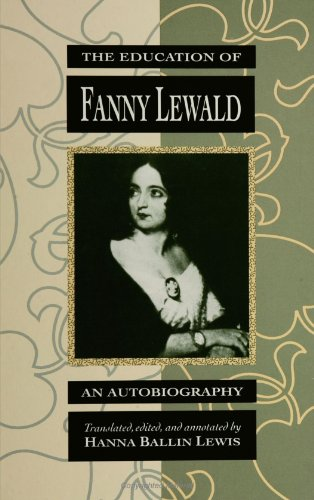Education of Fanny Lewald An Autobiography N/A edition cover