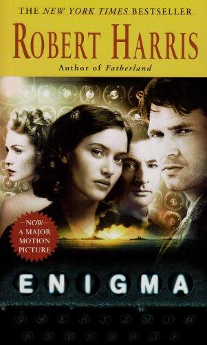 Enigma   1995 (Movie Tie-In) edition cover