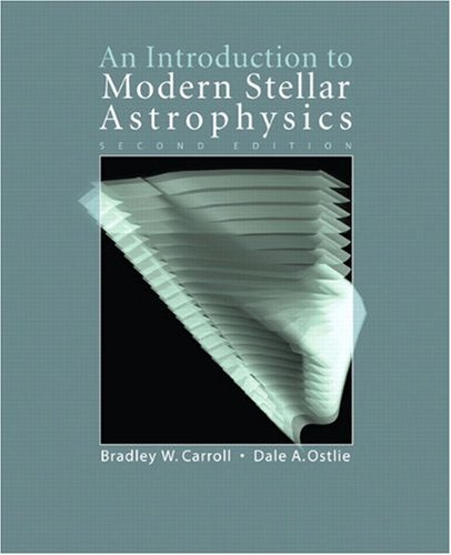 Introduction to Modern Stellar Astrophysics  2nd 2007 edition cover