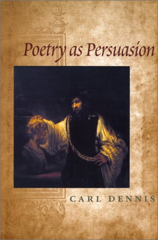 Poetry as Persuasion   2001 edition cover