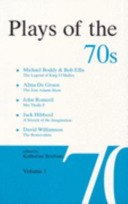 Plays of the 70s  N/A 9780868195483 Front Cover