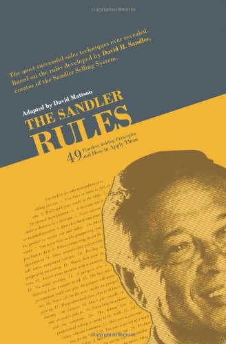 Sandler Rules   2009 edition cover