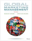 Global Marketing Management  6th 2014 edition cover