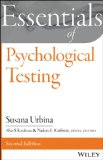 Essentials of Psychological Testing  2nd 2014 9781118680483 Front Cover