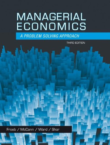 Managerial Economics  3rd 2014 edition cover
