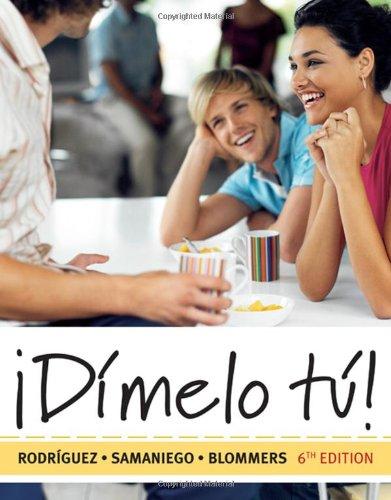 �Dimelo Tu! A Complete Course 6th 2010 edition cover