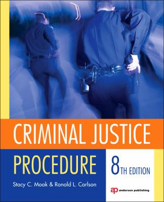 Criminal Justice Procedure  8th 2013 (Revised) edition cover