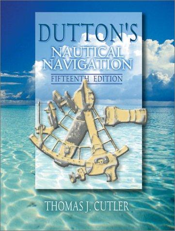 Dutton's Nautical Navigation  15th 2003 edition cover