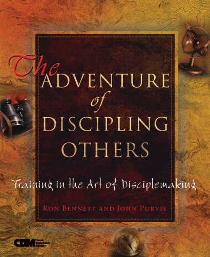 Adventure of Discipling Others Training in the Art of Disciplemaking  2003 edition cover
