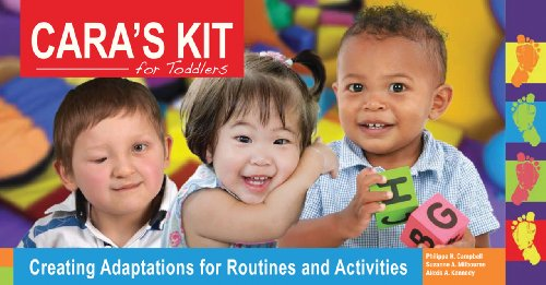 CARA's Kit for Toddlers Creating Adaptations for Routines and Acitivities  2012 edition cover