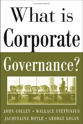 What Is Corporate Governance?   2005 edition cover
