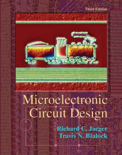 Microelectronic Circuit Design  3rd 2008 (Revised) 9780073309484 Front Cover