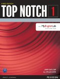 Top Notch 1 + Myenglishlab:   2015 9780133393484 Front Cover