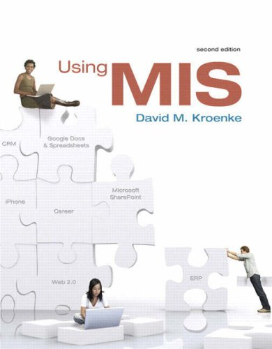 Using MIS  2nd 2009 edition cover