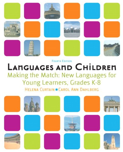 Languages and Children Making the Match, New Languages for Young Learners 4th 2010 edition cover